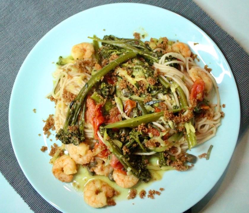 Spaghetti mit Brösel