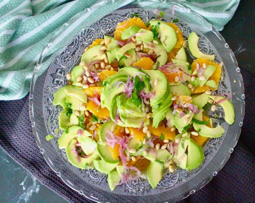 Avocado Orangen Drssing