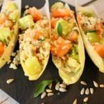 Melone-Gurken-Salat