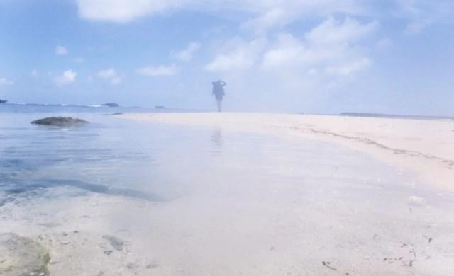 sandy island siargao