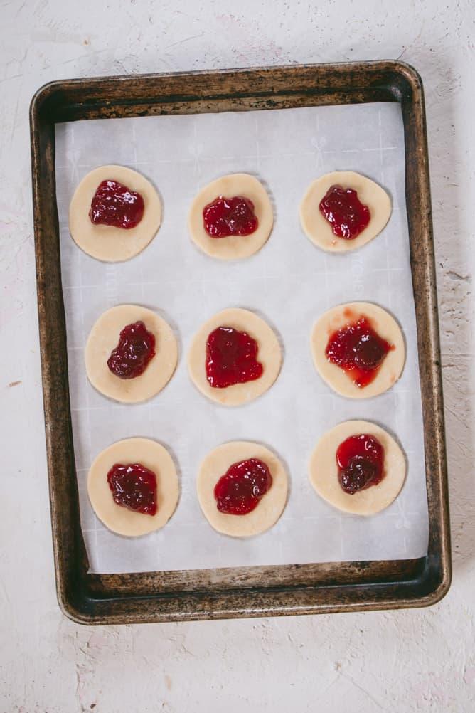 add jam to strawberry pop tarts
