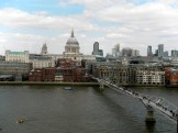 St. Paul's und Millenium Bridge
