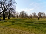 Kensington Gardens im Sonnenschein