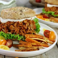 PULLED JACKFRUIT