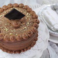 DECADENT RUM CAKE