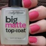 Turn your manicure matte with Sallly Hansen
