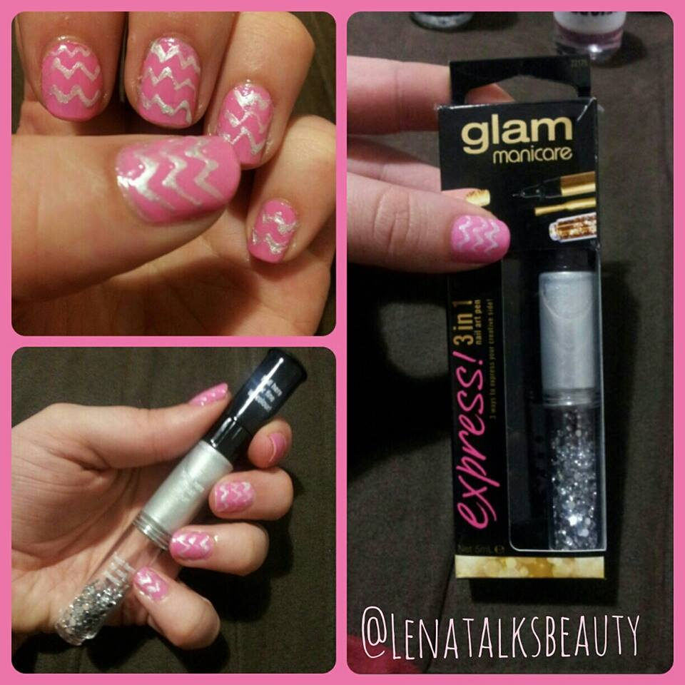 glam by manicare nail art pen