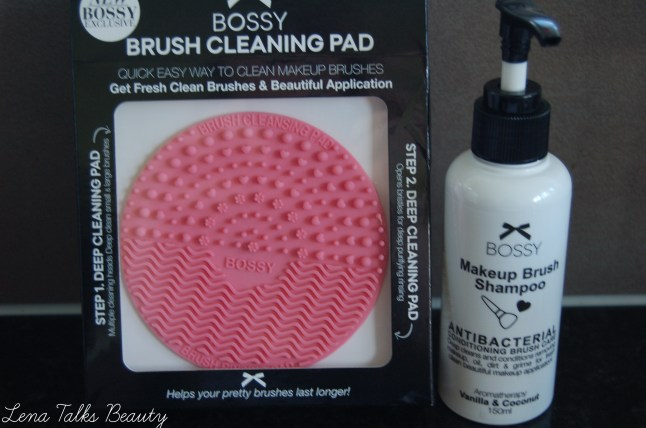 Bossy Brush cleansing pad and brush shampoo