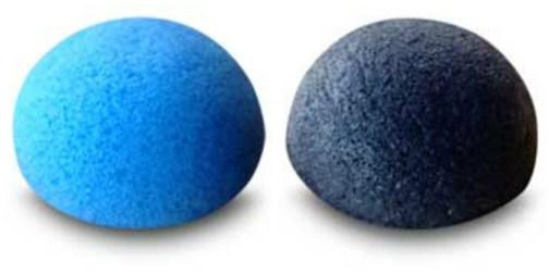 blueberry and charcoal konjac sponge