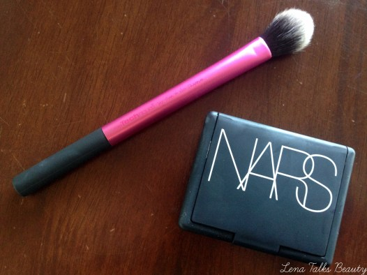 NARS Albatross and Real Techniques Setting Brush