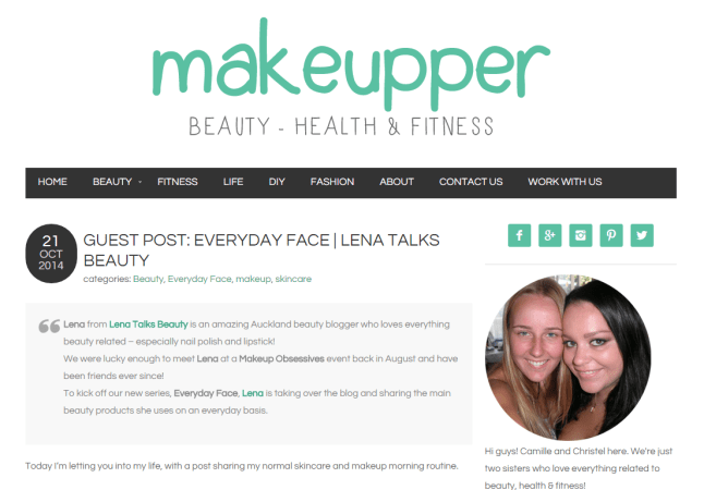 everyday face for makeupper