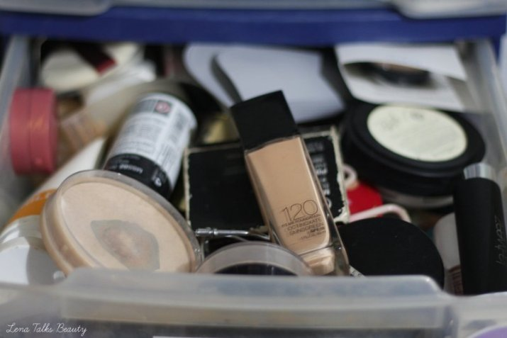 Makeup Storage - Lena Talks Beauty