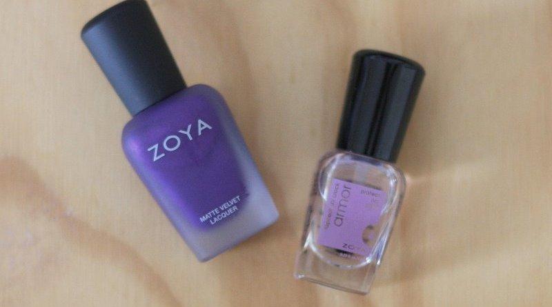 Zoya Savita Matte Velvet Lacquer - Lena Talks Beauty
