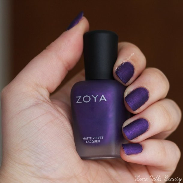 Zoya Savita Nail Polish Swatch - Lena Talks Beauty