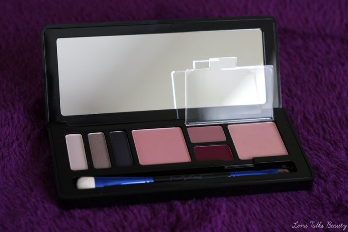 MAC Cosmetics Enchanted Eve Face Palette Holiday 2015 - Lena Talks Beauty
