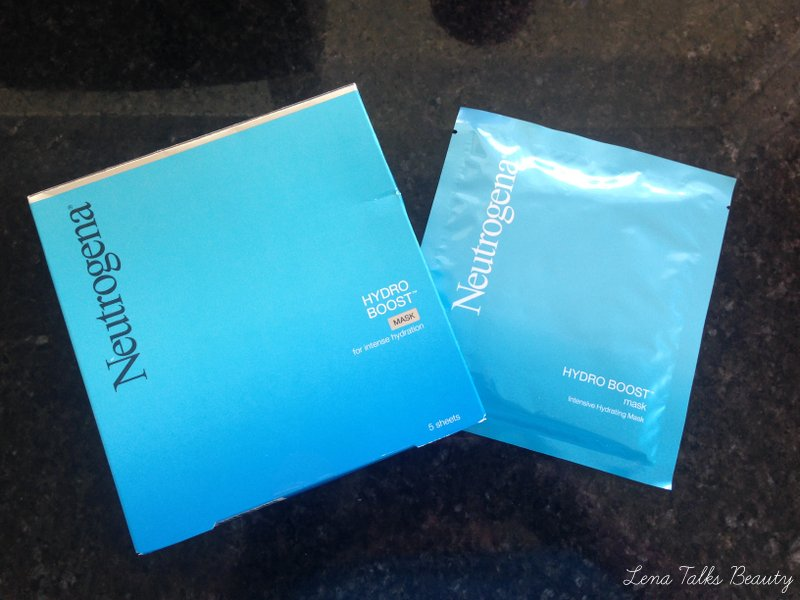 Neutrogena Hydro Boost Mask - Lena Talks Beauty