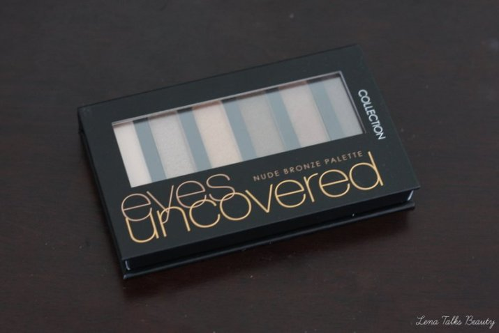Collection eyes uncovered eyeshadow palette - Lena Talks Beauty