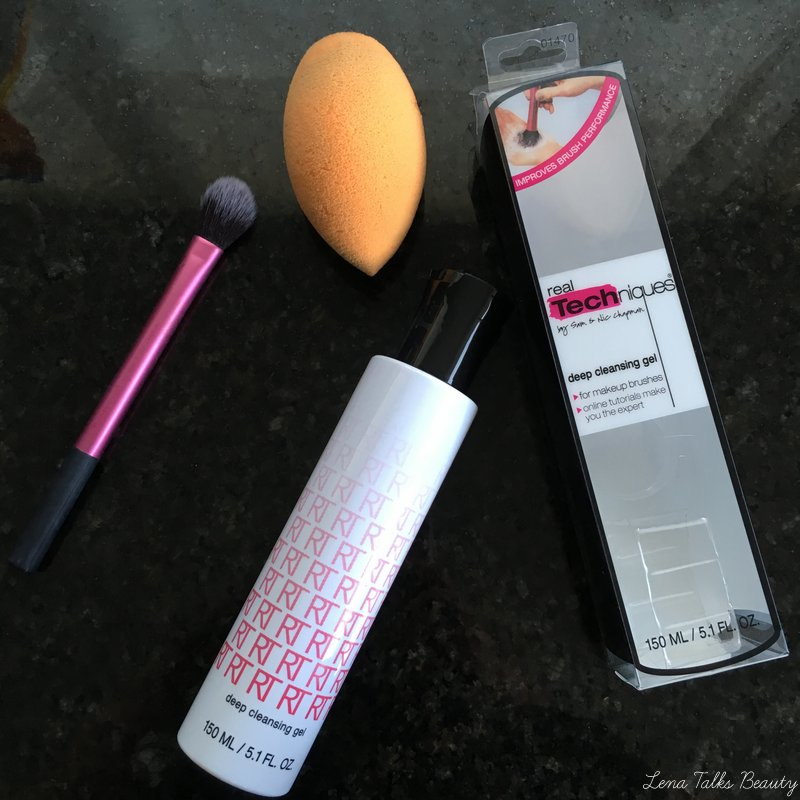 Real Techniques Deep Cleansing Gel and Miracle Complexion Sponge - Lena Talks Beauty.08-1