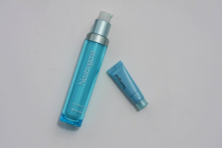 neutrogena hydro boost spf 15, neutrogena hydro boost - lena talks beauty