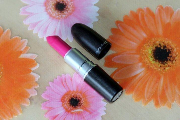 MAC Be Silly Lipstick Flamingo Park - Lena Talks Beauty
