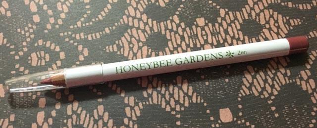 Honeybee Gardens JobaColors Lip Liner Zen - Lena Talks Beauty