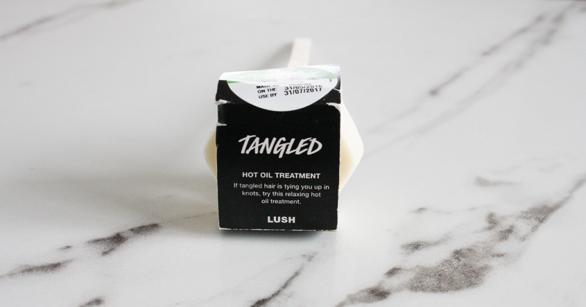 Lush Tangled Hot Oil Treatment - review and tips for use