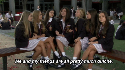 So quiche ja'mie private school girl