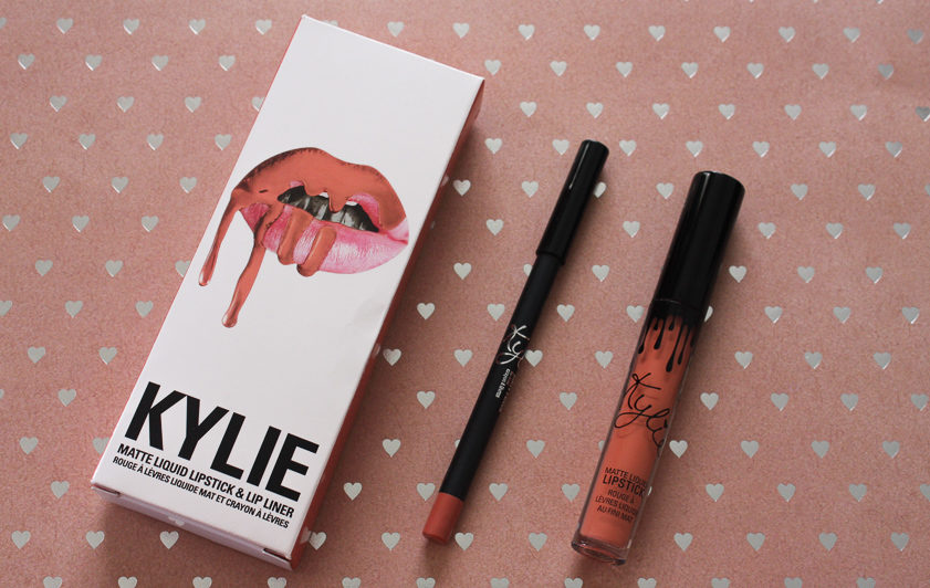 Kylie Cosmetics Dirty Peach Lip Kit Review
