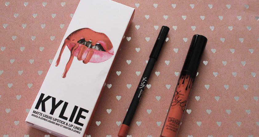 Kylie Cosmetics Dirty Peach Lip Kit by Lena Talks Beauty