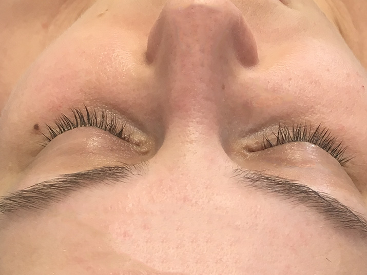 Lashes before extensions - Lena Talks Beauty
