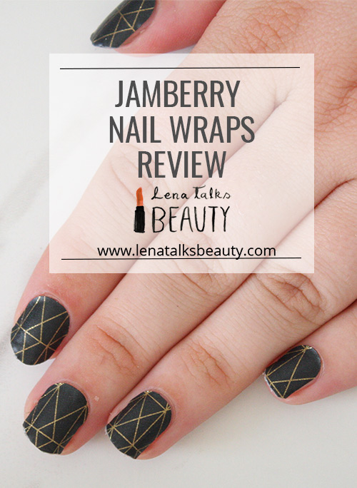 Jamberry nail wraps review by Lena Talks Beauty