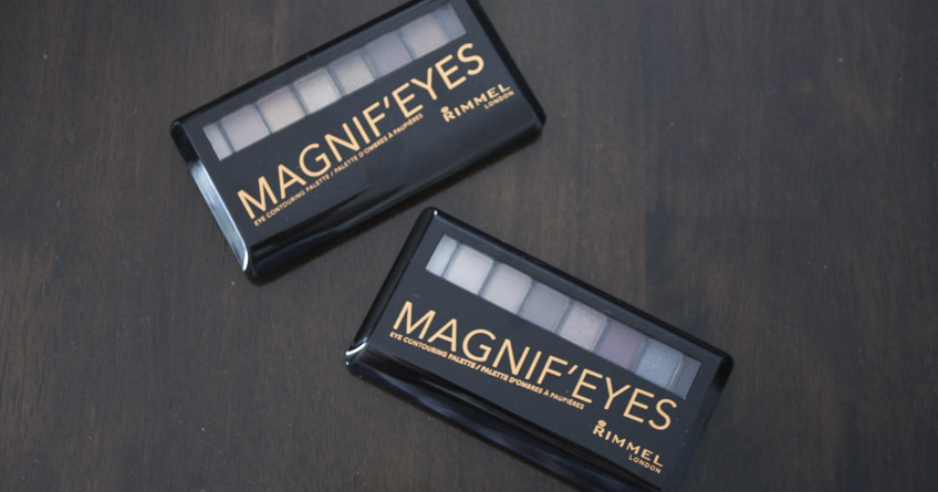 Rimmel Magnif'Eyes Eyeshadow Palettes review