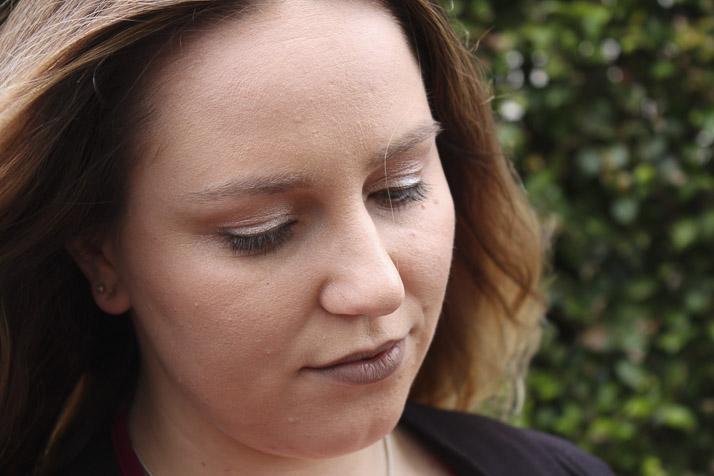 Lena Talks Beauty wearing NYX Cosmic Metals eyesahdow palette