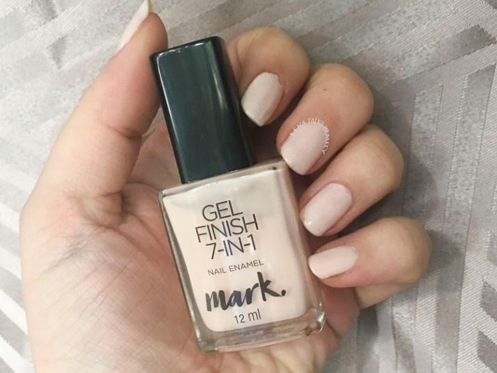 Mark Gel Nail Enamel Sheer Love swatch by Lena Talks Beauty