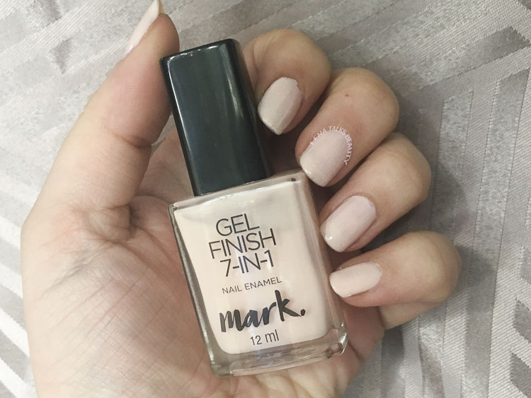 Mark Gel Nail Enamel Sheer Love swatch by Lena Talks Beauty