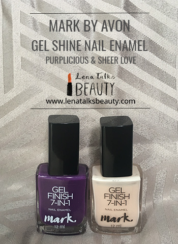 Mark  gel nail enamel review by Lena Talks Beauty