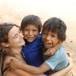marjo et enfants Centre Echoi Eki