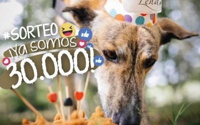 ¡Sorteo para celebrar que ya somos 30.000 seguidores en Facebook!
