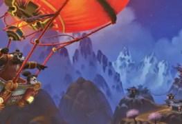 Diario de Viagem da Li Li – Oitavo registro: Monte Kun-Lai | World of WarCraft, WarCraft, wow, azeroth, lore