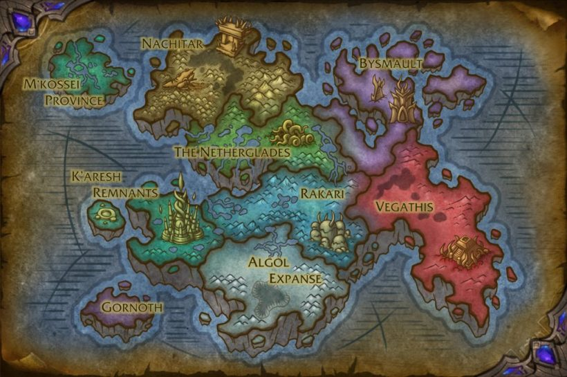 Dentro do Vazio | World of WarCraft, WarCraft, wow, azeroth, lore