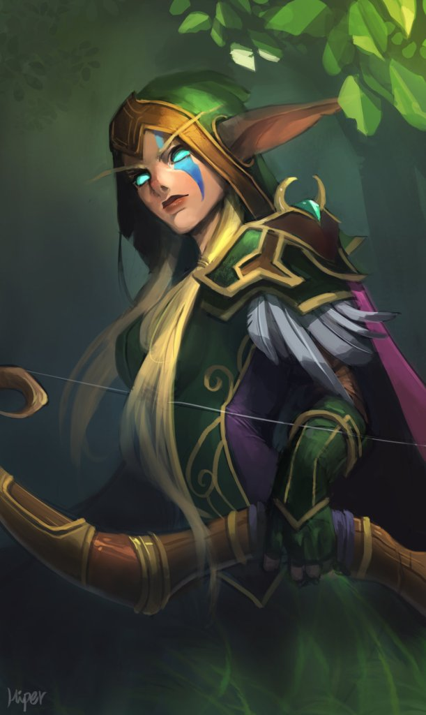 Alleria Correventos | World of WarCraft, WarCraft, wow, azeroth, lore