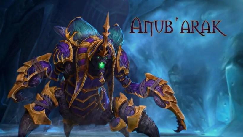 Anub'Arak   World of WarCraft, WarCraft, wow, azeroth, lore