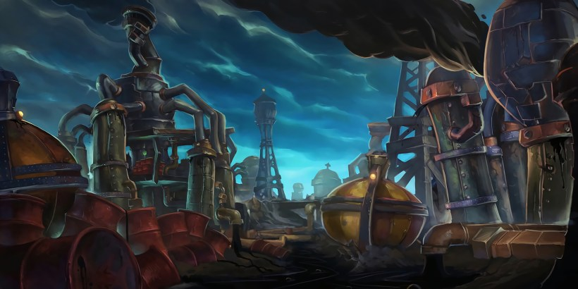 Battleground Refinaria | World of WarCraft, WarCraft, wow, azeroth, lore