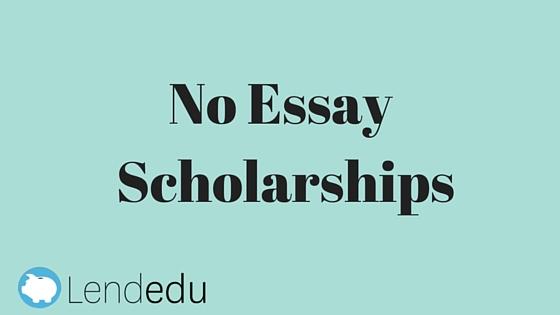 No essay scholarships infoletter co