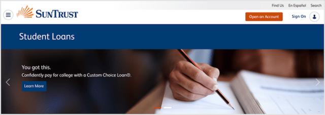 suntrust student credit card | Ownerletter co