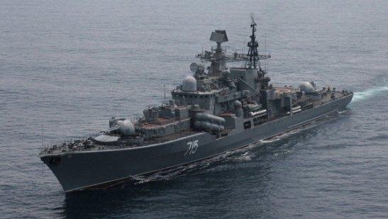 Nga và Trung Quốc tập trận hải quân chung, tháng 7/2013 (RIA Novosti / Vitaliy Ankov)