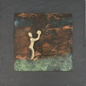 bronzebillede_kunst_bronzeskulptur_lene_purkaer_stefansen_varemaerkebeskyttet_at_balancere_med_livets_bolde