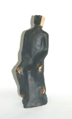 Drømmer - bronzeskulptur