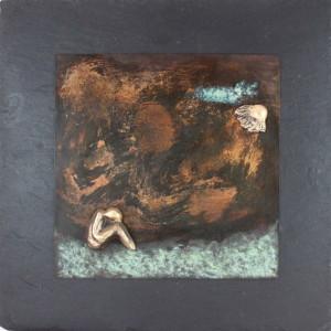 bronzebillede_lene_purkaer_stefansen_at_miste_tiden_staar_stille_for_en_stund_mens_kroppen_lever_videre