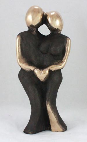 bronzeskulptur_lene_purkaer_stefansen-kunst_sculpture_aegte_foelelse_af_kaerlighed